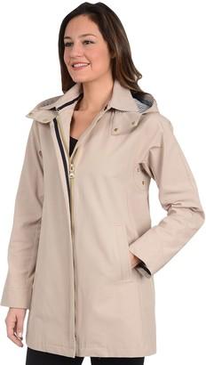 Fleet Street Women's Hooded Trench Coat