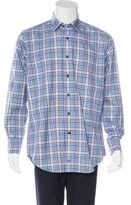 David Donahue Plaid Woven Shirt w/ Tags
