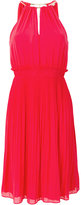 MICHAEL Michael Kors pleated halter dress - women - Polyester - 2