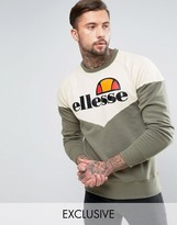 Ellesse Chevron Sweatshirt With Classic Logo