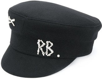 Ruslan Baginskiy Sequin Embellished Sailor Hat