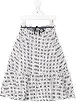 Amelia Milano - Bianca skirt - kids - Cotton - 4 yrs