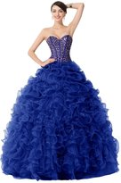 Dora Bridal Sweetheart Pick-Ups Ball Gowns Quinceanera Dresses Size US