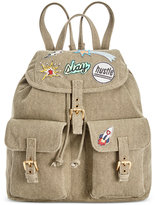 Steve Madden Dillian Canvas Medium Backpack with Patches, a Macy's Exclusive Style