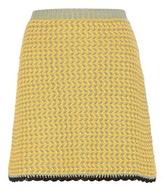 Miu Miu Knitted Cotton Skirt