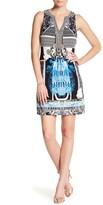 Hale Bob Printed Sleeveless Dress