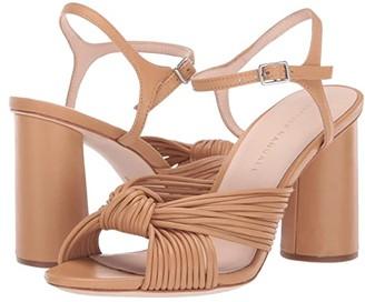 Loeffler Randall Cece High Heel Knot Sandal (Dune Nappa) Women's Shoes