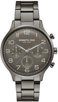 Kenneth Cole New York Men's Gunmetal Stainless Steel Bracelet Watch 42mm