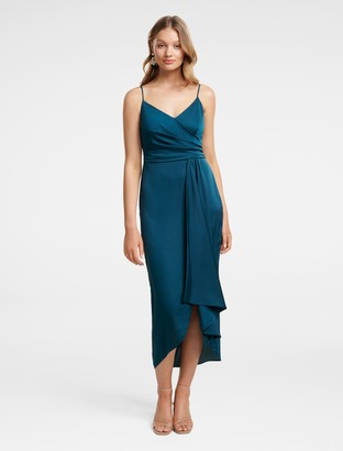 Ever New Bree Crossover Drape Dress