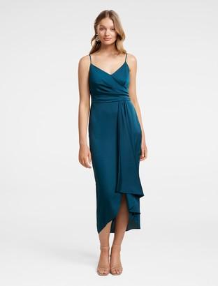 Ever New Bree Crossover Drape Dress