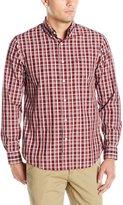 Dockers Long Sleeve Shadow Plaid Cvc Woven Shirt