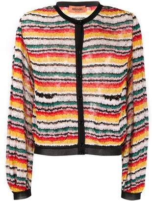 Missoni Striped-Pattern Cardigan