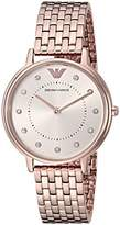 Emporio Armani Women's 'Dress' Quartz Stainless Steel Casual Watch