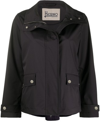 Herno High-Neck Boxy Jacket