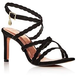 Ted Baker Women's Scalloped Strap High-Heel Sandals