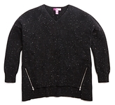 Aqua Girls' High Low Cashmere Sweater, Big Kid - 100% Exclusive