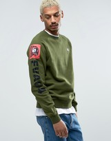 Billionaire Boys Club Sweatshirt With Sleeve Print