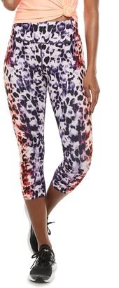 Women's FILA SPORT Print High-Waisted Capri Leggings
