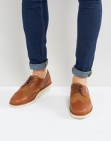 Fred Perry Newburgh Leather Brogue Derby Shoes