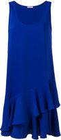 P.A.R.O.S.H. sleeveless ruffle hem dress - women - Polyester - S