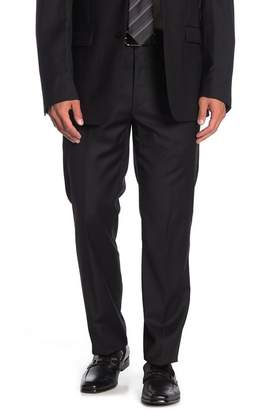 "Calvin Klein Solid Black Suit Separate Pants - 30-34"" Inseam"