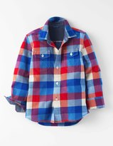Boden Brushed Check Shirt