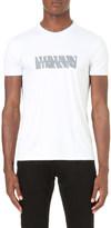 Armani Jeans Logo print cotton t-shirt