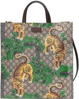 Gucci Bengal soft GG Supreme tote - men - Leather/Canvas/Microfibre - One Size