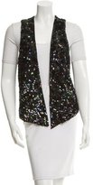 Gryphon Sequin High-low Vest