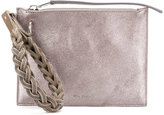 Rick Owens wristlet clutch - women - Lamb Skin/Leather - One Size