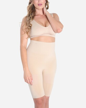 Express Slimme By Memoi High Waisted Thigh Shaper