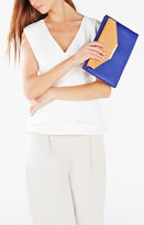 BCBGMAXAZRIA Ashtyn Color-Blocked Envelope Clutch