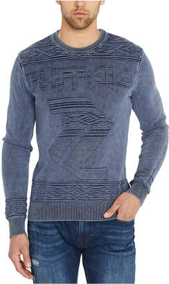 Buffalo David Bitton Men Wilso Jacquard Knit Sweater