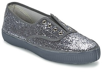 Chipie JOSS GLITTER women's Shoes (Trainers) in Grey