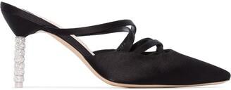 Sophia Webster Coco 100mm crystal heel mules