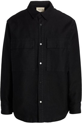 Fear Of God Sixth Collection Cotton Shirt Jacket