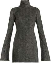 Ellery Generation high-neck bell-sleeved top