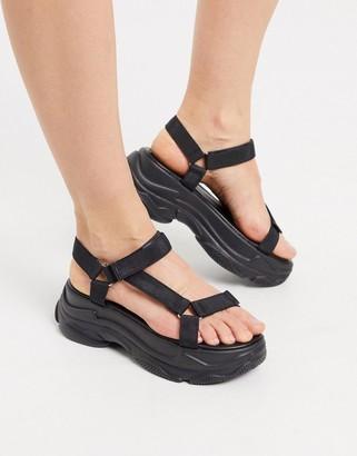 Raid Rania chunky sporty sandals in black
