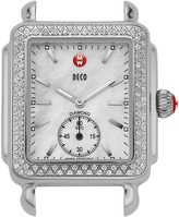 Michele Deco 16 Diamond Silver/Steel Watch Head