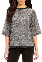IC Collection Round Neck Top