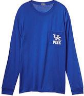 PINK University of Kentucky Long Sleeve Campus Tee