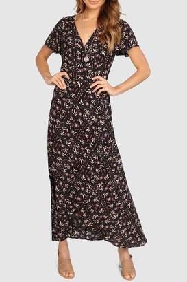 Eliza J Lost In Lunar Wrap Dress