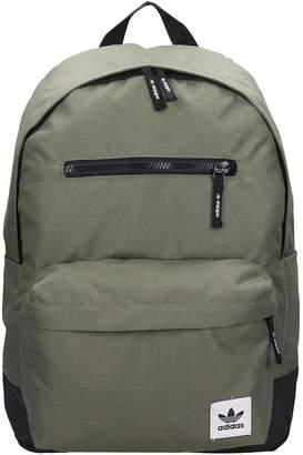 adidas Pe Classic Bp Backpack In Green Nylon