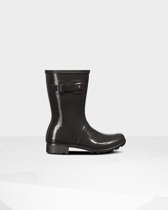 Hunter Women's Original Tour Foldable Short Gloss Rain Boots