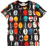 Paul Smith Hats Printed Cotton Jersey T-Shirt