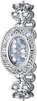 Titan Women's 9973SM01 Raga Pearl Analog Display Quartz Silver Watch