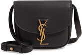 Saint Laurent Small Kaia Leather Crossbody Bag