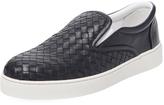 Bottega Veneta Men's Leather Low Top Sneaker
