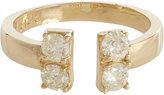 Loren Stewart LOREN STEWART WOMEN'S DIAMOND & GOLD OPEN-BAND RING