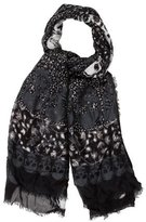 Zadig & Voltaire Printed Modal Scarf w/ Tags